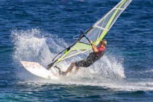 Surfen am Lago Maggiore